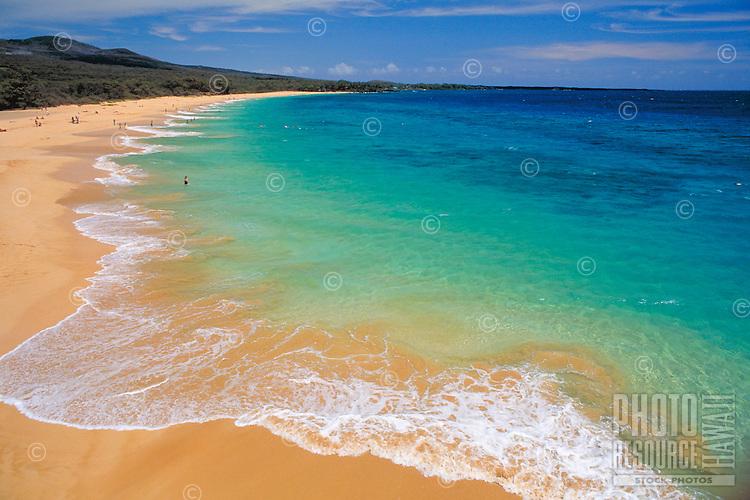 Makena beach, Big beach, Maui