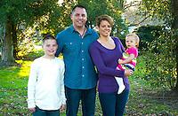 11/11/12 5:30:43 PM - Washington Crossing, PA. --  Beach Family -- November 11, 2012 in Washington Crossing, Pennsylvania -- (Photo by William Thomas Cain/Cain Images)