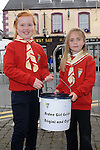 Caoimhe Stewart and Abbie Carey pictured at the Ardee Beat on the Street. Photo: Colin Bell/pressphotos.ie