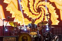 SÃO PAULO, SP, 01.09.2018 - SHOW-SP - Haroldo Ferretti,  Baterista da banda Skank durante show na noite deste sábado, 01, no Credicard Hall em São Paulo. (Foto: Anderson Lira\Brazil Photo Press)