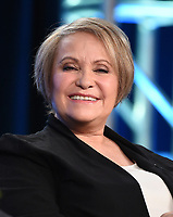 """PASADENA, CA - JANUARY 13: Cast member Adriana Barraza attends the panel for """"Penny Dreadful: City of Angels"""" during the Showtime presentation at the 2020 TCA Winter Press Tour at the Langham Huntington on January 13, 2020 in Pasadena, California. (Photo by Frank Micelotta/PictureGroup)"""