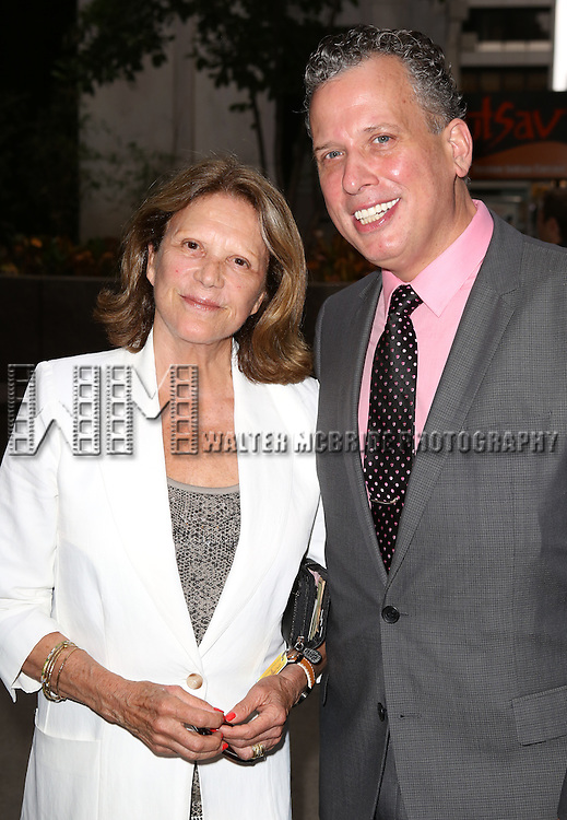 Linda Lavin, Billy Stritch attend 'The Unavoidable Disappearance Of Tom Durnin' Opening Night at Laura Pels Theatre on June 27, 2013 in New York City.