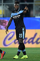 Felipe Caicedo of Lazio celebrates after scoring a goal during the Serie A 2018/2019 football match between Frosinone and Lazio at stadio Benito Stirpe, Frosinone, February 4, 2019 <br />  Foto Andrea Staccioli / Insidefoto