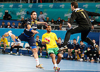 15.01.2013 World Championshio Handball. Match between Spain vs Australia (51-11) at the stadium La Caja Magica. The picture show