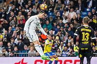 Cristiano Ronaldo of Real Madrid in action  during the match of Spanish La Liga between Real Madrid and UD Las Palmas at  Santiago Bernabeu Stadium in Madrid, Spain. March 01, 2017. (ALTERPHOTOS / Rodrigo Jimenez) /NortePhoto.com