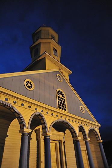Iglesia de Chonchi, Chiloe (Chile)