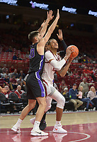 NWA Democrat-Gazette/ANDY SHUPE<br /> Arkansas Southwest Baptist Friday, Nov. 2, 2018, during the second half of their exhibition game in Bud Walton Arena. Visit nwadg.com/photos to see more photographs from the game.