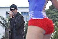 SAO PAULO, SP, 01 DE MAIO  DE 2012 -  1º DE MAIO UNIFICADO - Show do cantor Latino durante dia do trabalhador unificado que foi comemorado com ato organizado pela Força Sindical e diversos outros sindicatos na praça Campos de Bagatelle, zona norte da cidade. FOTO: LEVI BIANCO - BRAZIL PHOTO PRESS