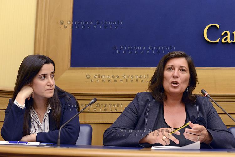 Roma, 1 Giugno 2015<br /> Antonella Laricchia candidata M5S alla Presidenza della Regione Puglia e Valeria Ciarambino Candidata per la Campania.<br /> Laricchia.