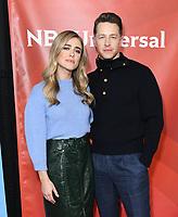 11 January 2020 - Pasadena, California - Melissa Roxburgh, Josh Dallas. NBCUniversal Winter Press Tour 2020 held at Langham Huntington Hotel. Photo Credit: Birdie Thompson/AdMedia
