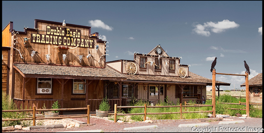 Arizona-Route 66<br /> Double Eagle Trading Post<br /> Williams