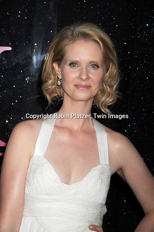 "Cynthia Nixon..posing for photographers at The New York Premiere of the ..""Sex and The City"" movie  on May 27, 2008 at Radio City Music Hall. ....Robin Platzer, Twin Images"