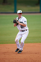 Dartmouth Big Green third baseman Steffen Torgersen (29) during a game against the South Florida Bulls on March 27, 2016 at USF Baseball Stadium in Tampa, Florida.  South Florida defeated Dartmouth 4-0.  (Mike Janes/Four Seam Images)