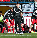 Aberdeen manager Derek McInnes at the final whistle.