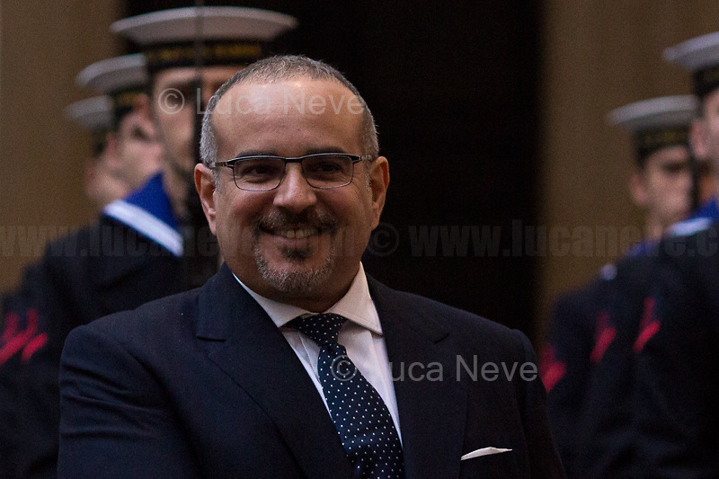 Salman Bin Hamad Bin Isa Al Khalifa (Crown Prince Of Bahrain).<br />