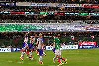 Mexico City, Mexico - Sunday June 11, 2017: USMNT, EL TRI during a 2018 FIFA World Cup Qualifying Final Round match with both men's national teams of the United States (USA) and Mexico (MEX) playing to a 1-1 draw at Azteca Stadium.