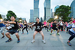 Warm-up - Bloomberg Square Mile Relay Shanghai 2016