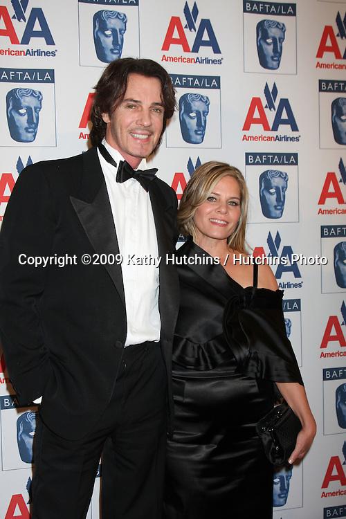 Rick & Barbara Springfield.arriving at The  2009 BAFTA BritanniaAwards.Century Plaza Hotel.Century City,  CA.November 5, 2009.©2009 Kathy Hutchins / Hutchins Photo.
