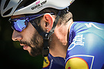 Fernando Gaviria (COL) Quick-Step Floors in action during Stage 5 of the 2018 Tour de France running 204.5km from Lorient to Quimper, France. 11th July 2018. <br /> Picture: ASO/Pauline Ballet | Cyclefile<br /> All photos usage must carry mandatory copyright credit (&copy; Cyclefile | ASO/Pauline Ballet)