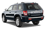 Rear three quarter view of a 2009 Jeep Grand Cherokee 5 Door