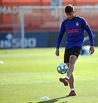 Atletico de Madrid's Alvaro Morata during training session. May 30,2020.(ALTERPHOTOS/Atletico de Madrid/Pool)