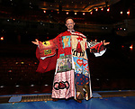 "Matt Allen during the Actors' Equity Gypsy Robe Ceremony  honoring Matt Allen for ""Escape To Margaritaville"" at The Marquis Theatre on March 15, 2018 in New York City."