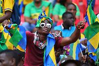 Tifosi Gabon vs Guinea Equatoriale <br /> Bata ( Guinea Equatoriale ) 25-01-2015 <br /> Coppa d'Africa 2015 <br /> Football Calcio 2014/2015 <br /> Repubblica Democratica del Congo - Costa d'Avorio 1-3 <br /> Foto Boubacar / Panoramic / Insidefoto