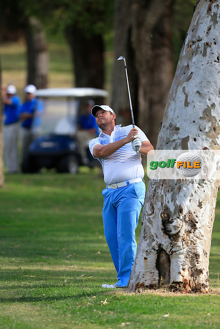 Jamie McLeary (SCO) on the 10th during Round 3 of the ISPS HANDA Perth International at the Lake Karrinyup Country Club on Saturday 25th October 2014.<br /> Picture:  Thos Caffrey / www.golffile.ie