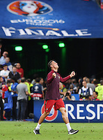 FUSSBALL EURO 2016 FINALE IN PARIS  Portugal - Frankreich     10.07.2016 JUBEL Portugal; Cristiano Ronaldo jubelt nach dem Schlusspfiff