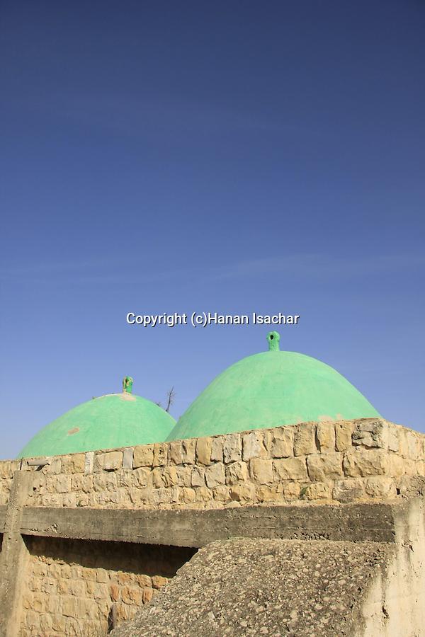 Israel, Lower Galilee, Tomb of Sheikh Abu el Hija