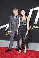 "LOS ANGELES - FEB 5:  Christoph Waltz, Rosa Salazar at the ""Alita: Battle Angel"" Premiere at the Village Theater on February 5, 2019 in Westwood, CA"