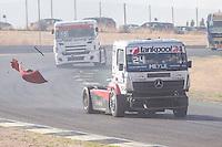 German driver Andre Kursim belonging German team Tankpool 24 Racing during the fist race R1 of the XXX Spain GP Camion of the FIA European Truck Racing Championship 2016 in Madrid. October 01, 2016. (ALTERPHOTOS/Rodrigo Jimenez) /NortePHOTO /NORTEPHOTO.COM