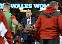 Wales Head Coach Wayne Pivac looks on during the pre match warm up<br /> <br /> Photographer Ian Cook/CameraSport<br /> <br /> 2019 Autumn Internationals - Wales v Barbarians - Saturday 30th November 2019 - Principality Stadium - Cardifff<br /> <br /> World Copyright © 2019 CameraSport. All rights reserved. 43 Linden Ave. Countesthorpe. Leicester. England. LE8 5PG - Tel: +44 (0) 116 277 4147 - admin@camerasport.com - www.camerasport.com