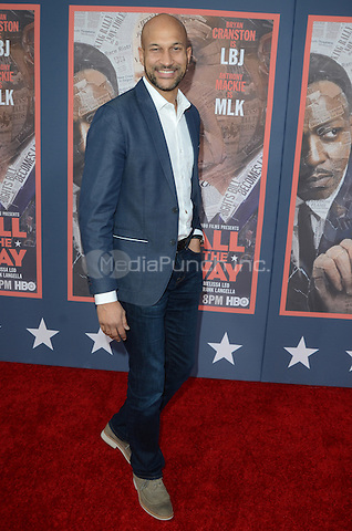 HOLLYWOOD, CA - MAY 10: Keegan-Michael Key at the 'All The Way' Los Angeles Premiere at Paramount Studios on May 10, 2016 in Hollywood, California. Credit David Edwards/MediaPunch