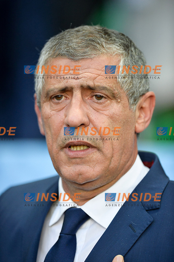 Fernando Santos Portugal <br /> Saint-Etienne 14-06-2016 Stadium Geoffroy-Guichard Football Euro2016 Portugal-Iceland / Portogallo-Islanda Group Stage Group F<br /> Foto Anthony Bibard / Panoramic / Insidefoto
