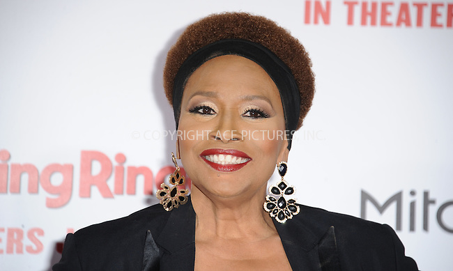 WWW.ACEPIXS.COM<br /> <br /> January 6 2015, LA<br /> <br /> Jennifer Lewis arriving at 'The Wedding Ringer' World Premiere at the TCL Chinese Theatre on January 6, 2015 in Hollywood, California. <br /> <br /> <br /> By Line: Peter West/ACE Pictures<br /> <br /> <br /> ACE Pictures, Inc.<br /> tel: 646 769 0430<br /> Email: info@acepixs.com<br /> www.acepixs.com
