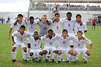 USA starting XI. The US U-17 Men's National Team defeated the Development Academy Select Team 3-1 during day one of the US Soccer Development Academy  Spring Showcase in Sarasota, FL, on May 22, 2009.
