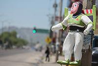 Piñata de personaje de caricatura Toy Story