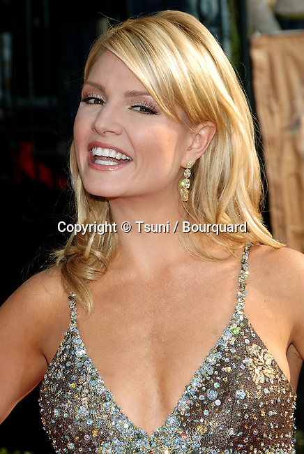 Dayna Devon arriving at the 12th Annual Screen Actors Guild Awards at the Shrine Auditorium In Los Angeles, Sunday January 29, 2006