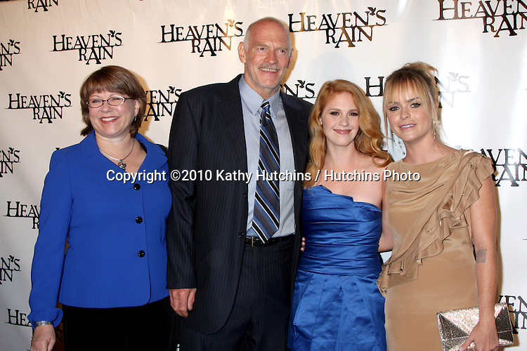 "LOS ANGELES - SEP 9:  Marilyn McIntyre, Casey Sander, Erin Chambers, & Taryn Manning arrives at the ""Heaven's Rain "" Premiere at ArcLight Cinemas on September 9, 2010 in Los Angeles, CA"