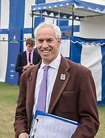 Henley-on-Thames. United Kingdom.  2017 Henley Royal Regatta, Henley Reach, River Thames. <br /> <br /> Henley Steward Jamie KOVEN.<br /> <br /> {TIME}  Thursday  29/06/2017<br /> <br /> [Mandatory Credit. Intersport Images].