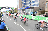 Picture by Allan McKenzie/SWpix.com - 15/05/2018 - Cycling - OVO Energy Tour Series Womens Race - Round 2:Motherwell - The peloton comes through Motherwell.