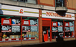 A752NF Poundstretcher  £ Pound shop Great Yarmouth Norfolk England