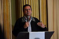 RIO DE JANEIRO, RJ, 21.06.2016 - RIO2016 - O prefeito Eduardo Paes durante entrevista coletiva para prestação de contas dos Jogos Olímpicos e Paralímpicos Rio 2016 e balanço das finanças municipais no Palácio da Cidade no centro da cidade do Rio de Janeiro nesta terça-feira, 21. (Foto: Jorge Hely/Brazil Photo Press)