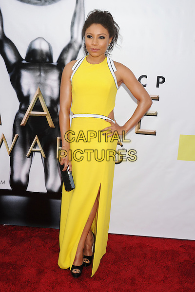 PASADENA, CA - FEBRUARY 11: Actress Shalita Grant arrives at the 48th NAACP Image Awards at Pasadena Civic Auditorium on February 11, 2017 in Pasadena, California.<br /> CAP/ROT/TM<br /> &copy;TM/ROT/Capital Pictures