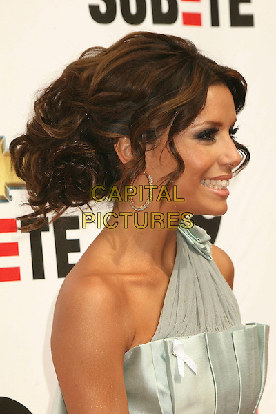 EVA LONGORIA.2007 NCLR ALMA Awards at the Pasadena Civic Center, Pasadena, California, USA, 1 June 2007..portrait headshot hoop earrings profile.CAP/ADM/BP.©Byron Purvis/AdMedia/Capital Pictures.