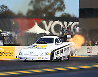 Jul 30, 2016; Sonoma, CA, USA; NHRA funny car driver Tim Gibbons during qualifying for the Sonoma Nationals at Sonoma Raceway. Mandatory Credit: Mark J. Rebilas-USA TODAY Sports