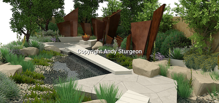 The Telegraph Garden by designer Andy Sturgeon