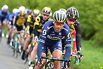 Svein Tuft (CAN) Orica-Scott on front of the peloton during Stage 1 of the Tour de Yorkshire 2017 running 174km from Bridlington to Scarborough, England. 28th April 2017. <br /> Picture: ASO/P.Ballet | Cyclefile<br /> <br /> <br /> All photos usage must carry mandatory copyright credit (&copy; Cyclefile | ASO/P.Ballet)