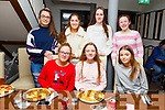 Twins Laura and Millie Dunne from Ballymac celebrating their birthday in La Scala on Friday night.<br /> Seated l to r: Laura and Millie Dunne and Lauren Clifford.<br /> Back l to r: Roisin Long, Sinead McKeown, Aoife Galvin and Clodagh Murray.